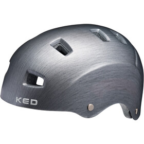 KED Risco Casque, grey/metall matte